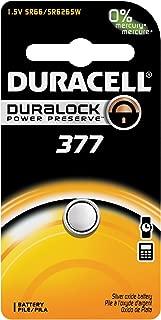 Duracell Watch Battery 377, 6 pack