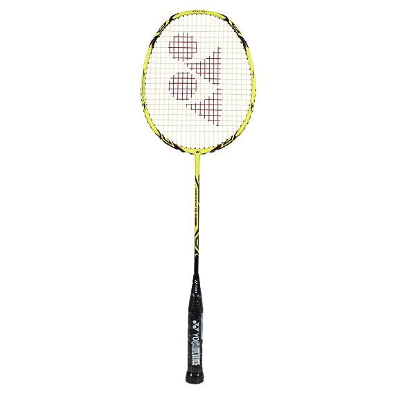 Yonex VOLTRIC 8 E-Tune Strung Badminton Racquet, Size G4 (Yellow)