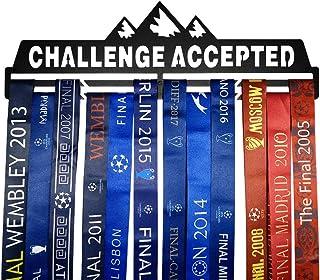 Full Health Sporting Running Medal Hangers Awards Display Medaillehouder Rack Metal Steel Wall Mounted Challenge Geaccepte...