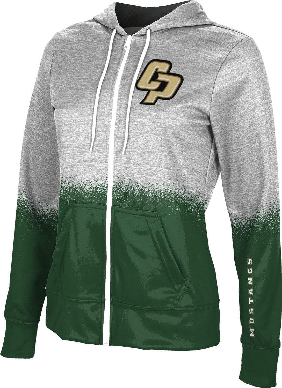 ProSphere California Polytechnic State University Girls' Zipper Hoodie, School Spirit Sweatshirt (Spray Over)