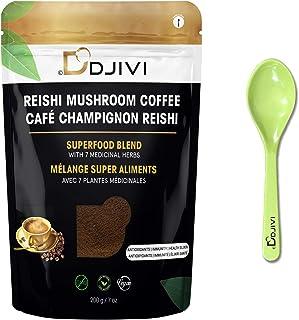 Dodjivi Ganoderma Reishi Mushroom Coffee - Energy, Stress Relief, Immune Boosting, Antioxidants, Focus, Slim Coffee Superf...
