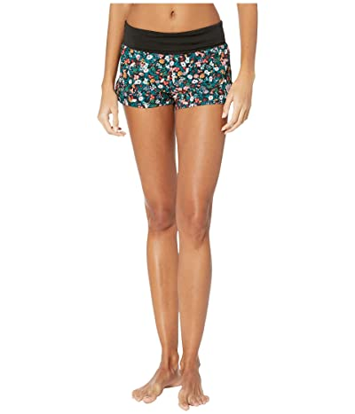 Roxy Endless Summer Print Boardshorts (Anthracite Bouquet) Women