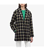 Shawl Collar Cocoon Coat