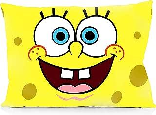 DoubleUSA Cute Spongebob Cartoon Pillowcases Two Sides Print Zipper Pillow Covers 20