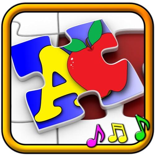 Niños ABC y contando Jigsaw Puzzle juego   aprender las formas de numeración del alfabeto y los números adecuado para niños pequeños y niños de edad escolar pre
