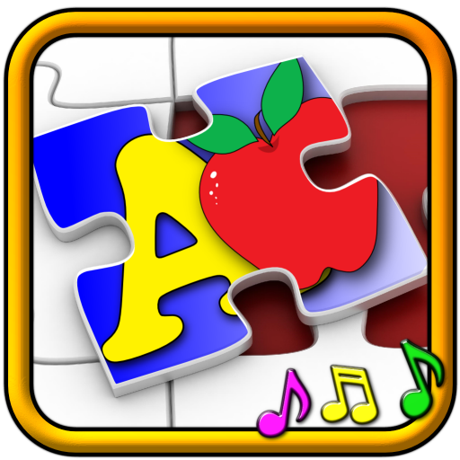 Niños ABC y contando Jigsaw Puzzle juego - aprender las formas de numeración del alfabeto y los números adecuado para niños pequeños y niños de edad escolar pre