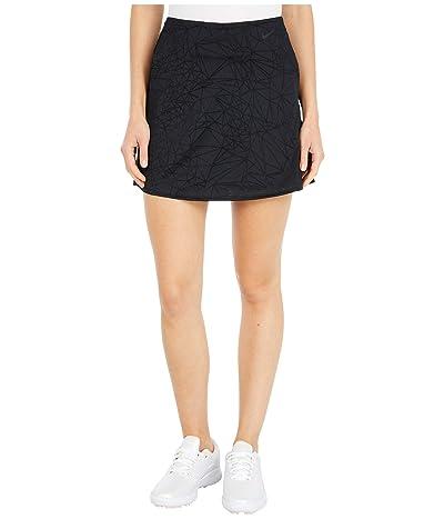 Nike Golf Breath Fairway Skirt 15 (Black/Black) Women
