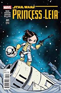 Princess Leia #1 Marvel Star Wars Comic with Skottie Young Variant Cover