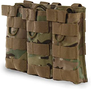 Outry M4 M16 AR-15 Type Magazine Pouch Mag Holder – Triple/Double/Single Airsoft..