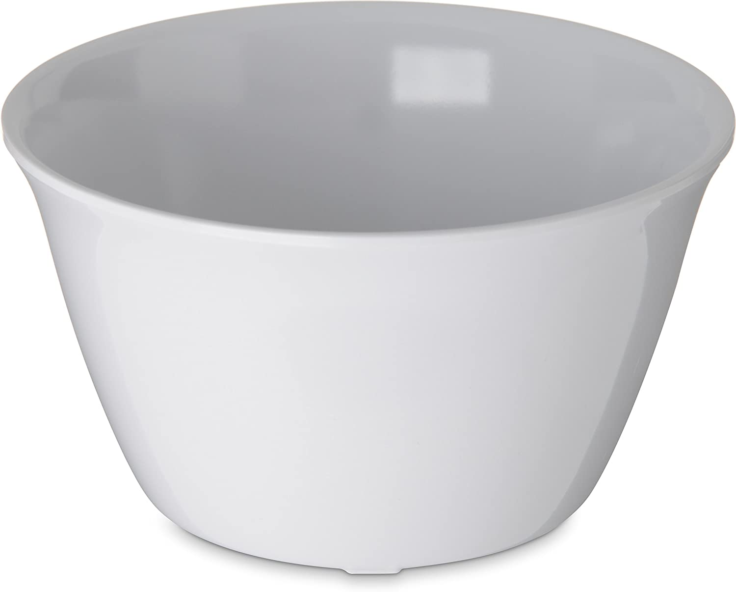 Carlisle 4354002 Dallas Ware Melamine Bouillon Cup, 8-oz. Capacity, 3.84 x 2.15 , White (Case of 24)
