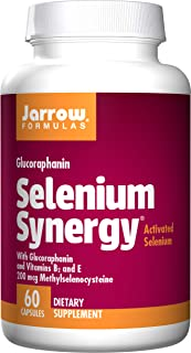 Jarrow Formulas Selenium Synergy,Promotes Antioxidant Protection Against Free Radicals, 60 Capsules