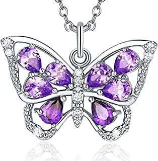 Butterfly Necklace, 925 Butterfly Necklace, Butterfly Necklaces for Women, Cz Butterfly Necklace, Butterfly Necklace for Girls