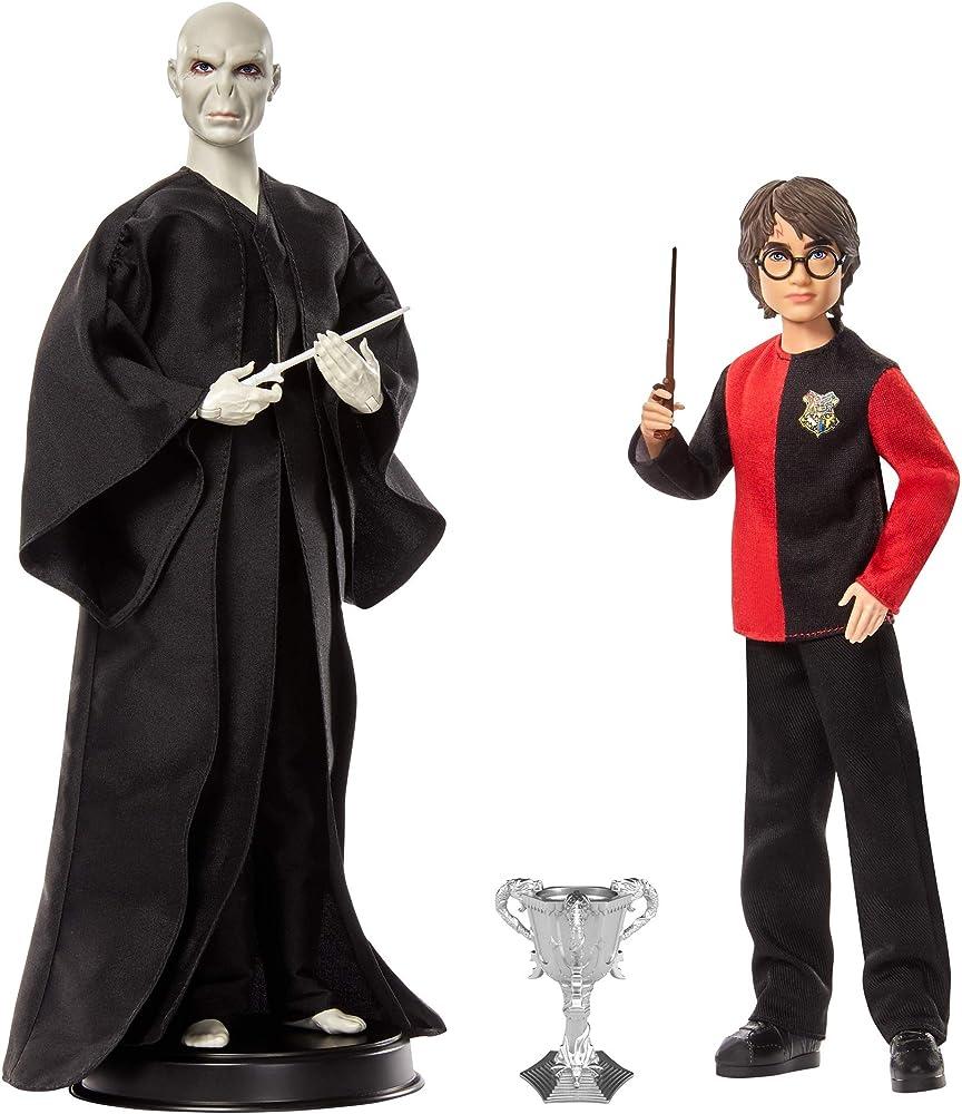 Harry potter,ricrea l`epico duello tra harry potter e lord voldemort GNR38