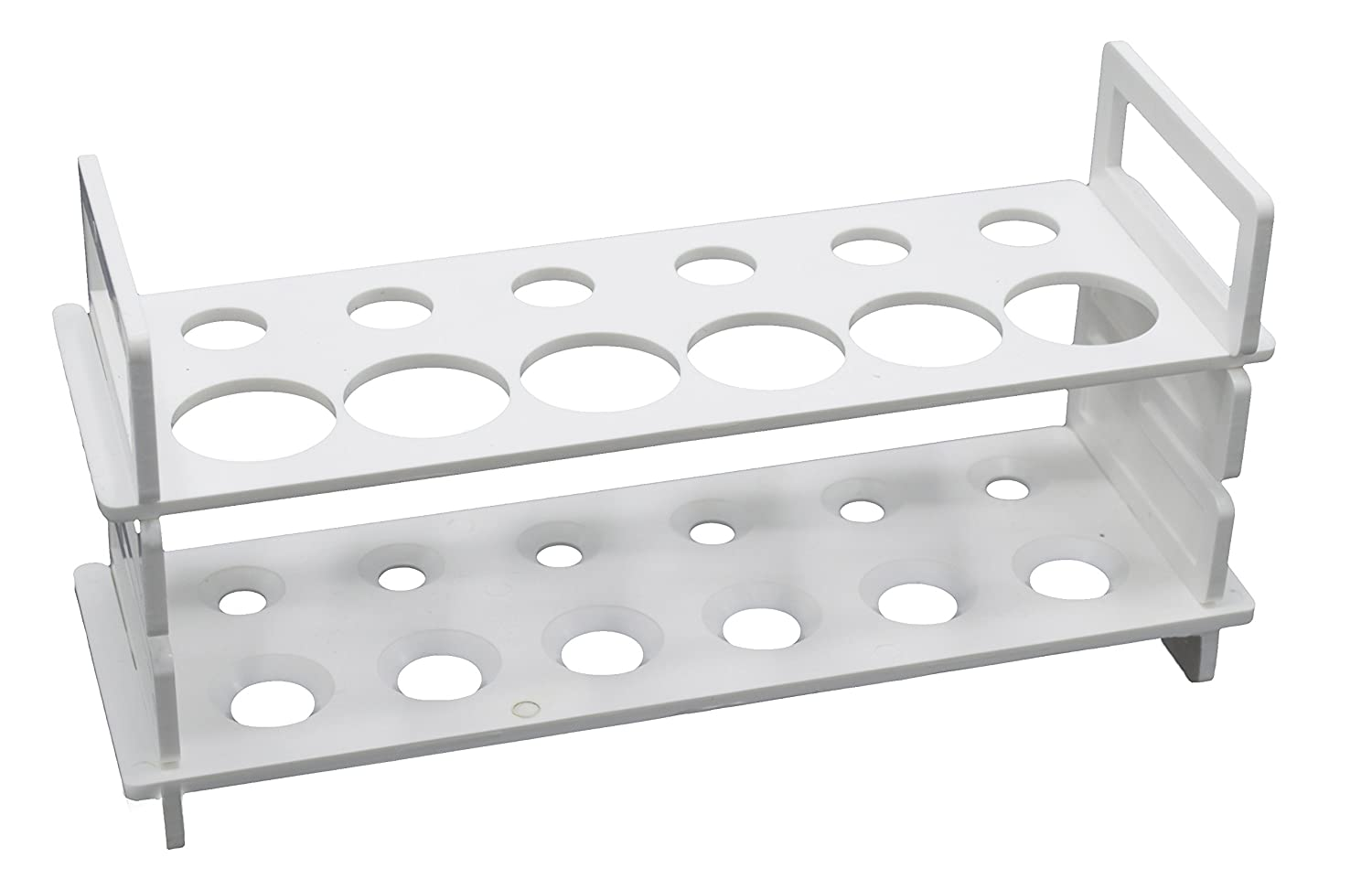 12 Hole Test Tube Stand Max 81% OFF - Holds 6 New life Diameter 30 mm and 15