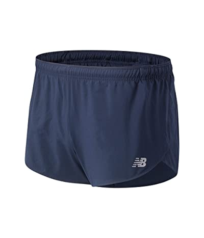 New Balance Impact Run 3-Inch Split Shorts (Eclipse) Men