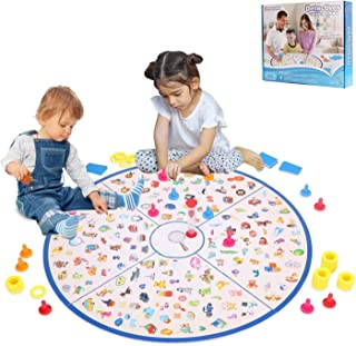 HOWADE Memory Matching Board Games,Little Detective Card Tabletop Game Bran Training Education Toy for Boys & Girls 3 and up