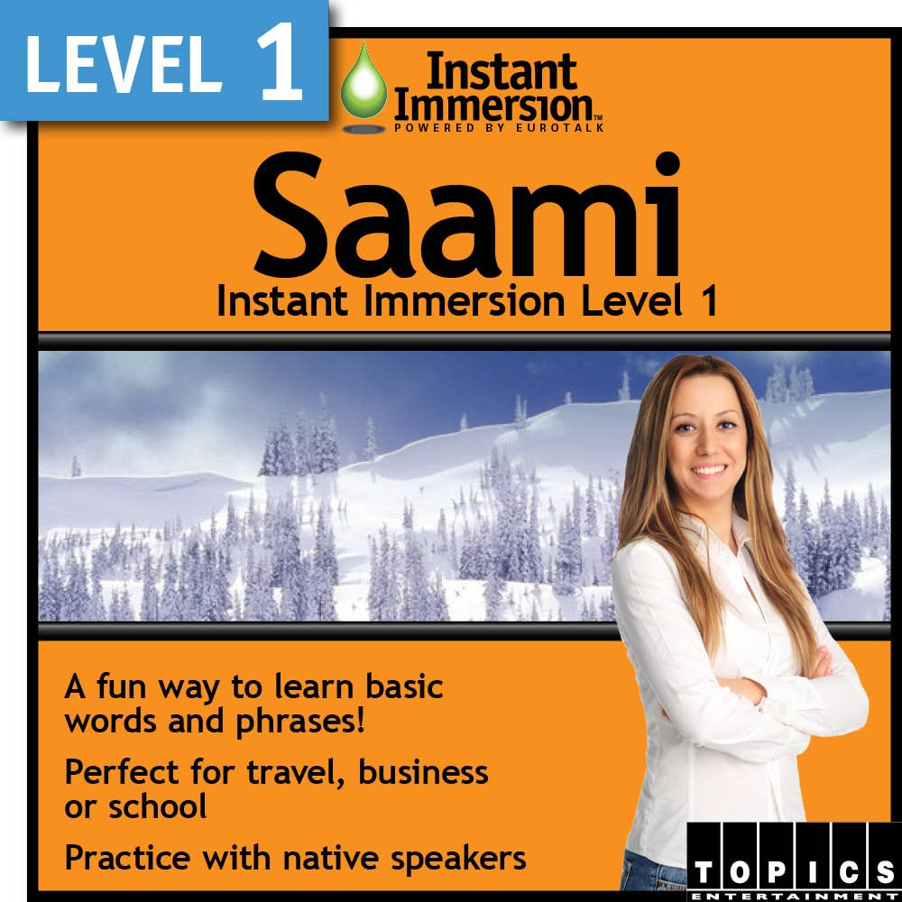 Instant Immersion Level 1 Popular brand in the world - Download Saami Recommendation