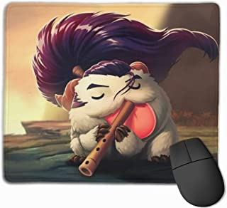 Optical Mice Mouse Padporo Champions Le-Ag-Ue of Le-Gen-Ds Mouse Pads Cute for Home Office Working Studying Easy Typing
