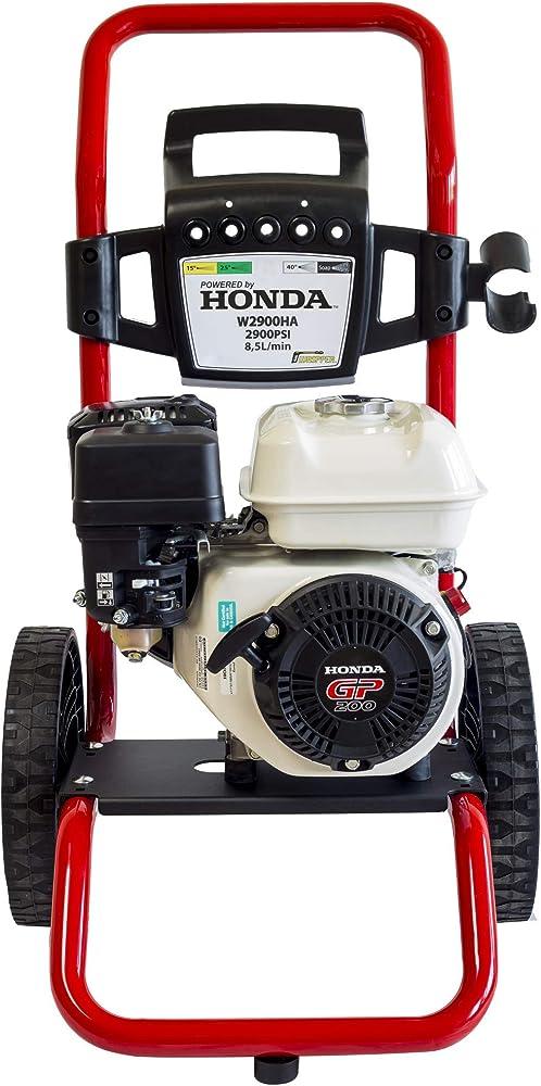 ? Hidrolimpiadora de Gasolina HONDA GP 200-2900 PSI ? 196cc con potencia de alta presión jet Hidrolimpiadora Profesional W2900HA portátil de alta calidad Limpiadora para autos y patios