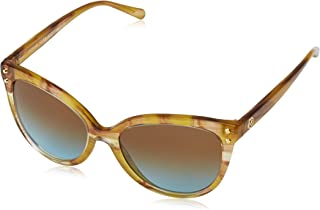 Michael Kors Jan 32365D 55 Montures de lunettes, Jaune (Yellow Floral/Amberblueegradient), Femme