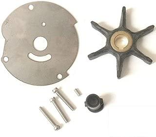 EMP Johnson Evinrude 10 15 18 20 25 HP Water Pump Impeller Kit Replaces 382468 18-3377