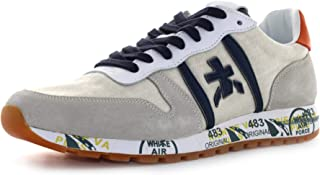 PREMIATA Sneakers Uomo Eric 4667 Camoscio Tessuto Beige