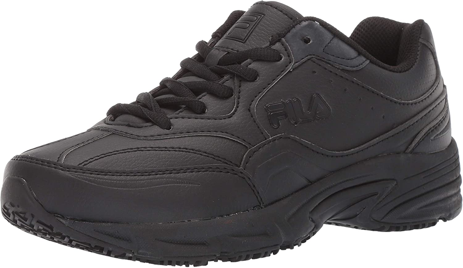 Fila Mens On The Job Slip Resistant Work shoes Hiking shoes