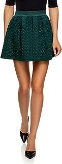 Mujer Falda de Tejido Texturizado con Cinturón Elástico
