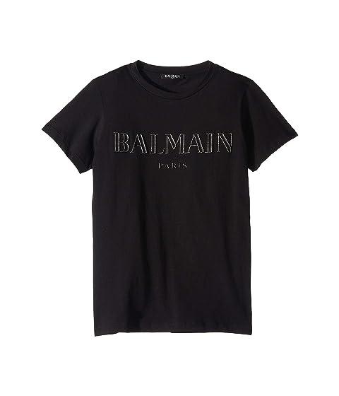 Balmain Kids Balmain Logo Tee