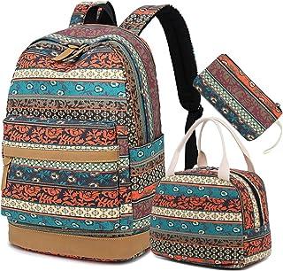 BTOOP Bookbag Casual School Backpack Cute Schoolbag Laptop Shoulder Bag Daypack for Teen Girls Boys