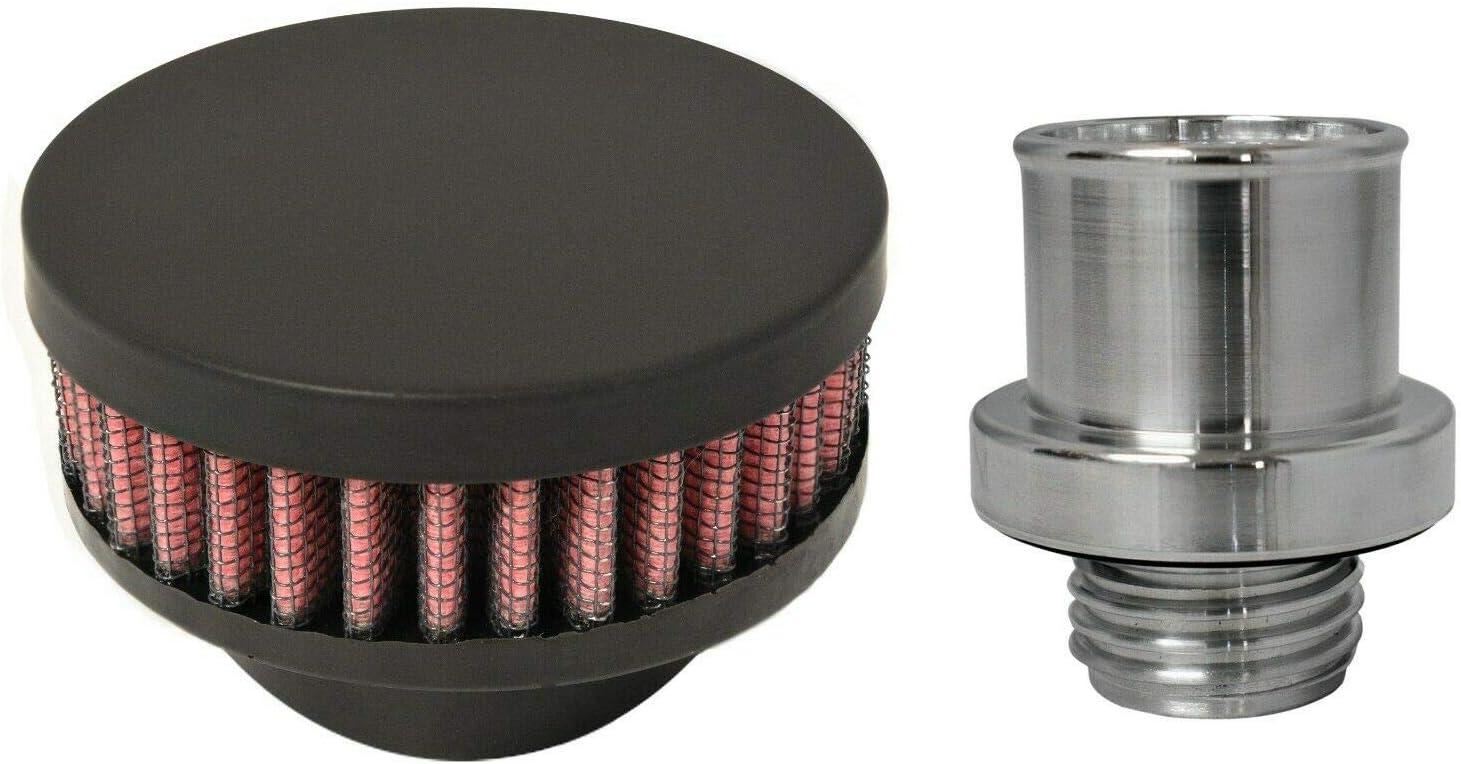 specialty shop CFM Performance 1-0302-5-FB Credence Baffled Cover Breather Valve Billet