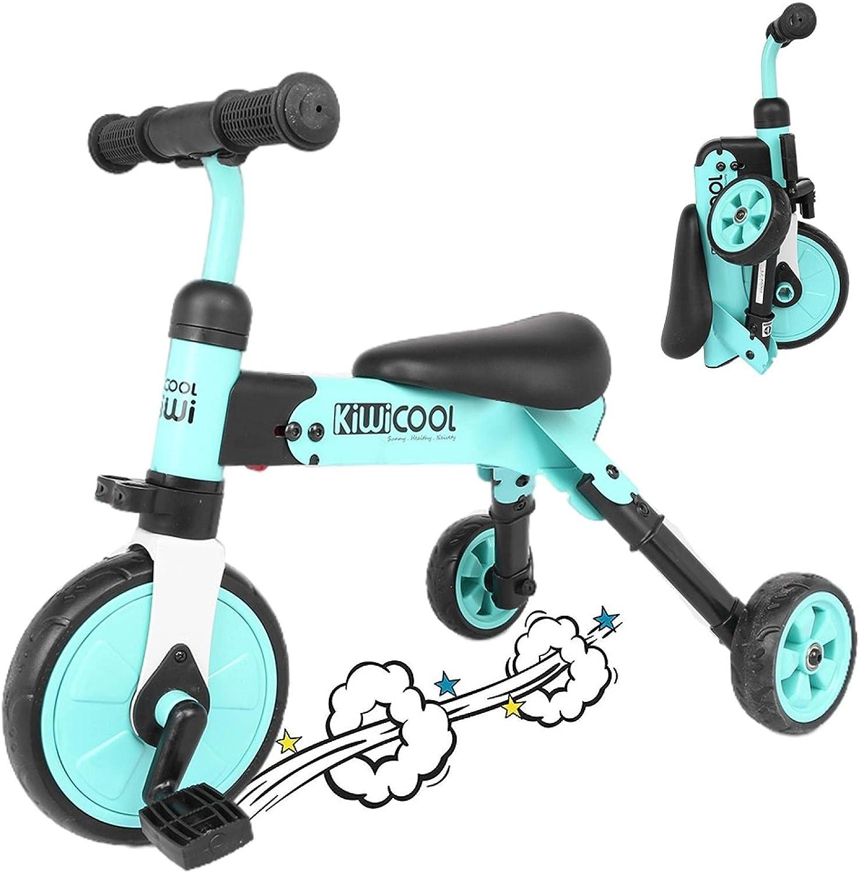 Huokan Foldable Kids Tricycle 2 1 in Nippon wholesale regular agency Set Walking F