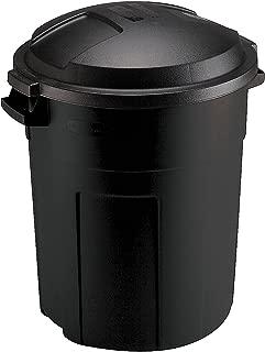 Rubbermaid Can, 20-Gallon, Black
