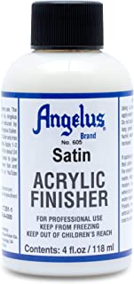 Angelus Brand Acrylic Leather Paint Stain Finisher No. 605 4oz
