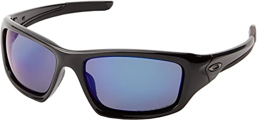 Deep Blue Iridium Polarized w/ Polished Black