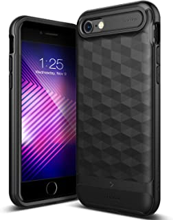 Caseology Parallax for Apple iPhone 8 Case (2017) / for iPhone 7 Case (2016) - Award Winning Design - Matte Black