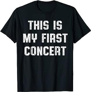 my first concert t shirt