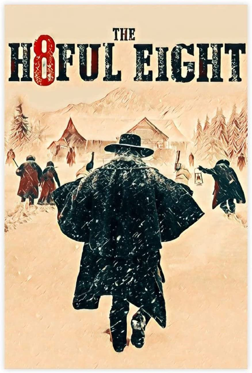 Wonderful Movie Many Max 84% OFF popular brands Series The Hateful Retro Eight Canvas Poster Pos