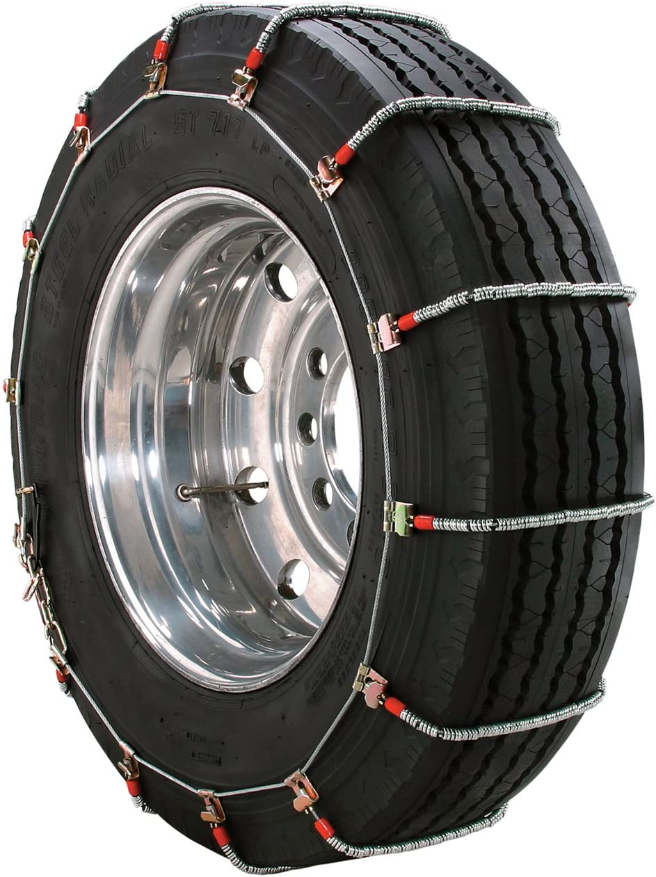 Huttoly 8 Pcs Car Snow Chains Tire Chains for Pickup Trucks SUV Cars Snow Mud Sand Mountain Road Driving Universal Car Anti Slip Tire Chains for Tire Width 205-265 mm