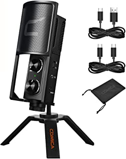USB Condenser Microphone,Comica STM-USB Cardioid Podcast...