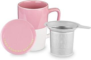 Pinky Up 7840 Delia - Taza de té con infusor