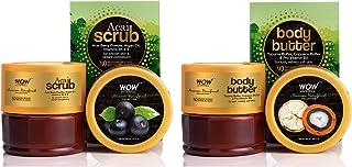 WOW Skin Science - Amazon Rainforest Collection - Rain Forest Acai Scrub - No Parabens Mineral Oil & WOW Amazon Rainforest...