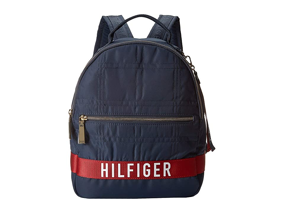Tommy Hilfiger Malena Backpack (Tommy Navy) Backpack Bags