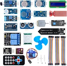 KeeYees Upgraded 20 in 1 Smart Home Sensor Modules Kit for Arduino and Raspberry Pi DIY Projects for Beginners and Professionals