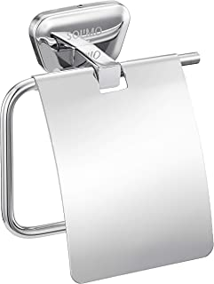 Amazon Brand - Solimo Fitz Stainless Steel Toilet Paper Holder
