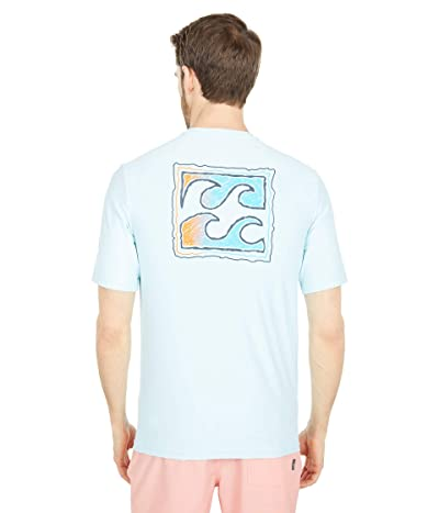 Billabong Crayon Wave Loose Fit Short Sleeve Surf Tee Men