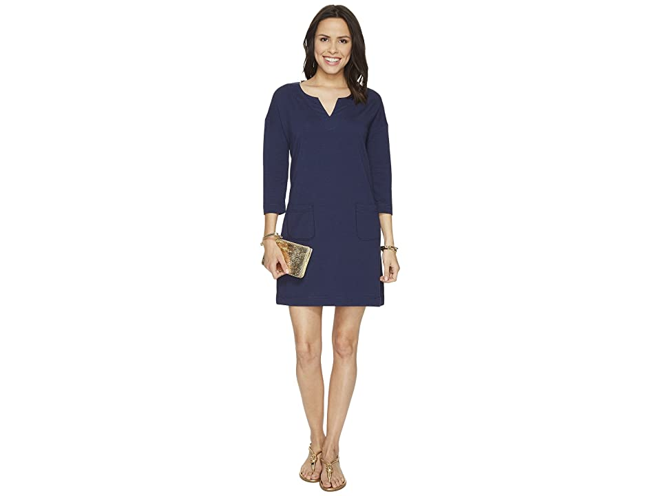 Lilly Pulitzer UPF 50+ Joyce Dress (True Navy) Women