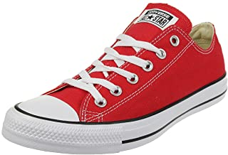 Converse All Star Ox Optical Chaussures DE Sport Basse Rouge M9696