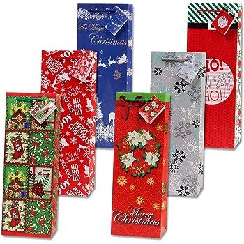 B Yliquor 2pcs Christmas Bags Baby Stocking Gift Box Xmas Tree Decoration Candy Bags for Happy Holiday Decor