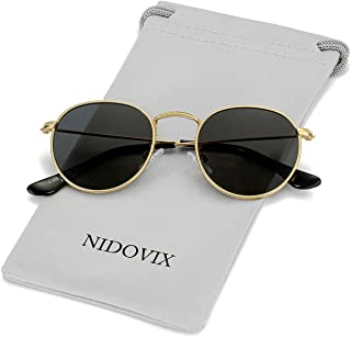 Kids Polarized Sunglasses Classic Metal Frame for Baby...